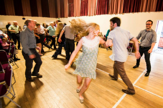 Friday Night Ceilidh Dance (Photo ©Sean Purser)